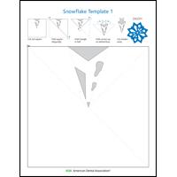 Image of snowflake activity sheet 1