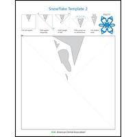 Image of snowflake activity sheet 2