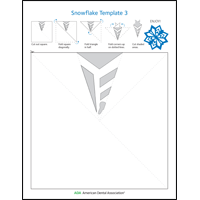 Image of snowflake activity sheet 3