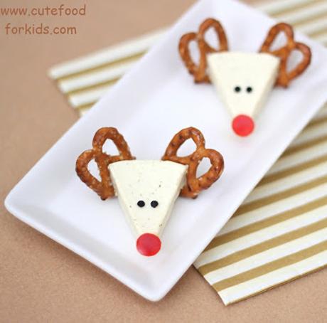 Cheese reindeer